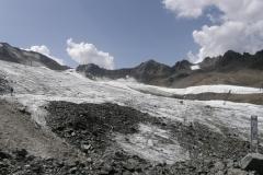 Widok na lodowiec
