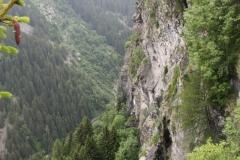 Splugenpass - widok na dolinę