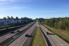 Szwecja motocyklem - autostrada
