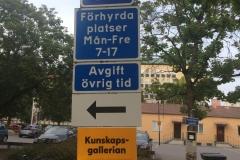 Szwecja motocyklem - parkowanie 0