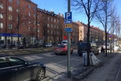 Szwecja motocyklem - parkowanie 1