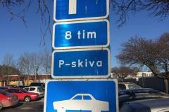 Szwecja motocyklem - parkowanie 3