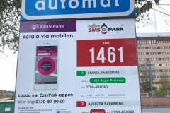Szwecja motocyklem - parkowanie 5