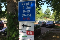 Szwecja motocyklem - parkowanie 6