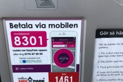 Szwecja motocyklem - parkowanie 7