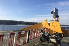 Szwecja motocyklem - prom 7