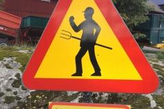 Szwecja motocyklem - znaki 5
