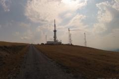 Wieża TV nad Novaci