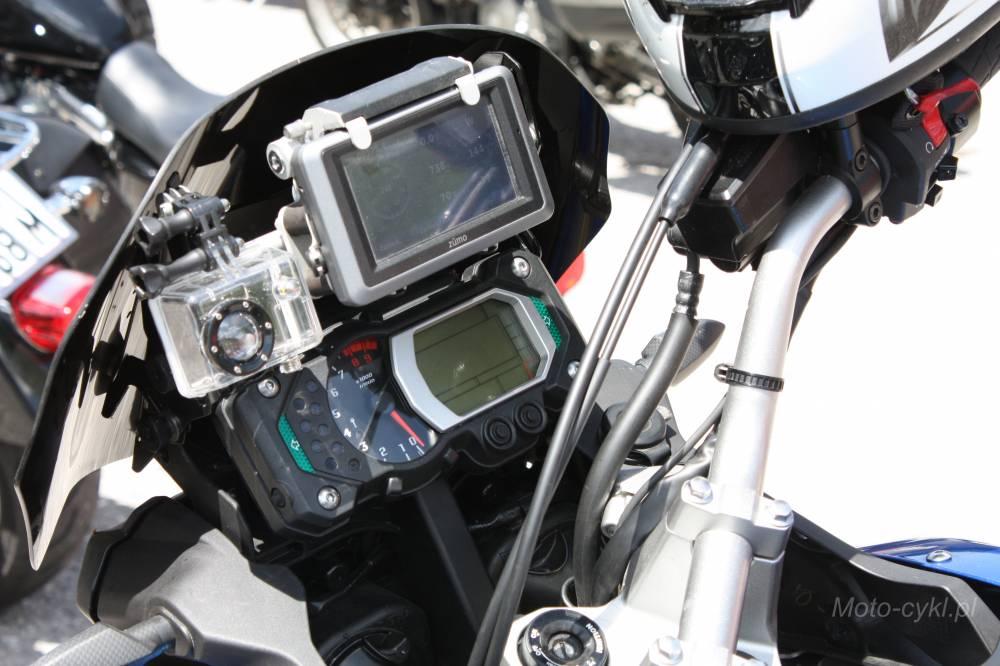 Sposób mocowania nawigacji GPS