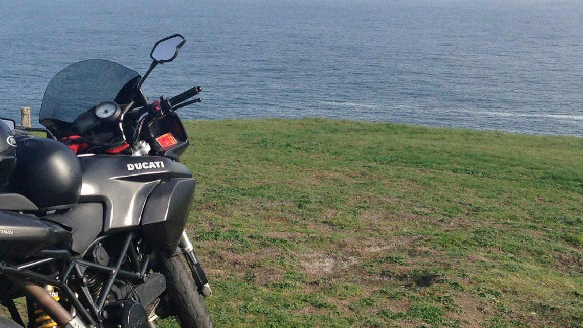 Motocyklem do Szwecji