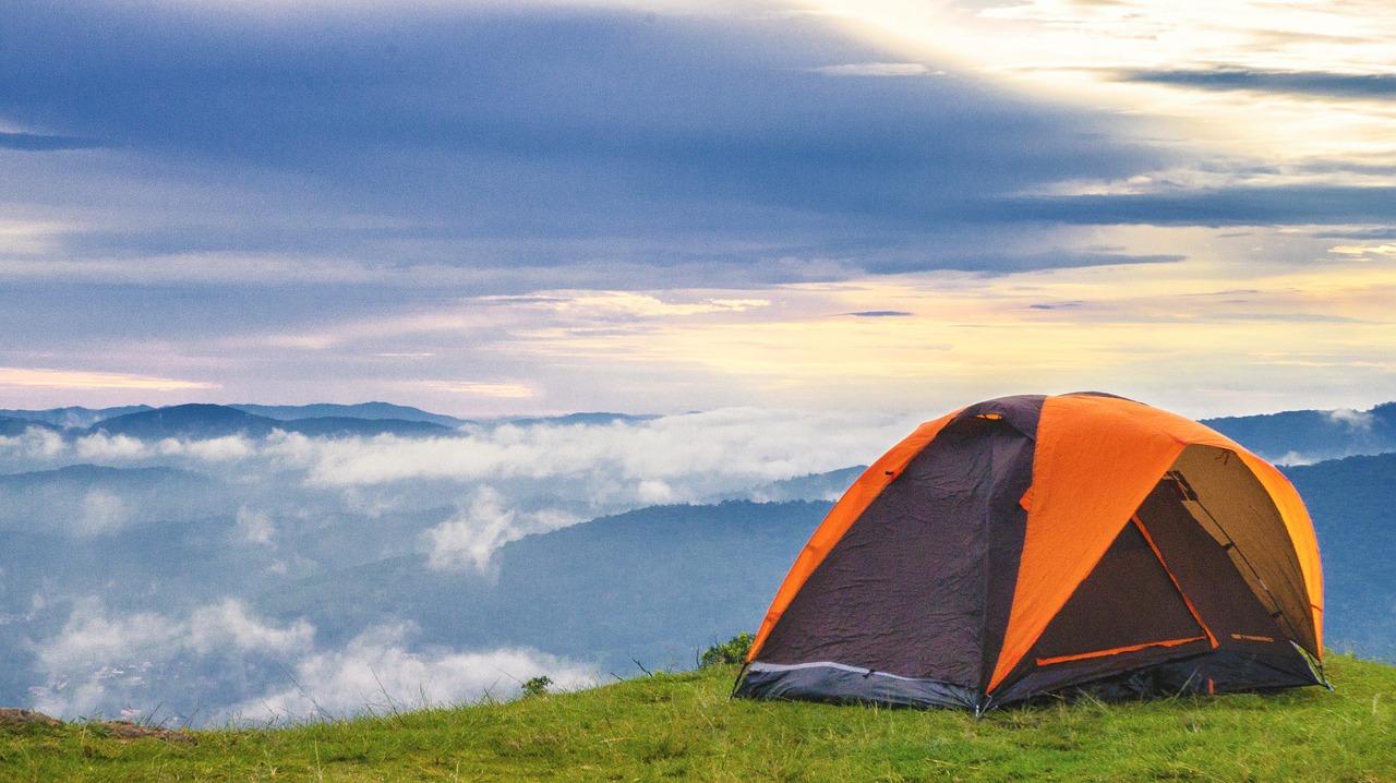 Namiot trekkingowy (motocyklowy?) z Lidla