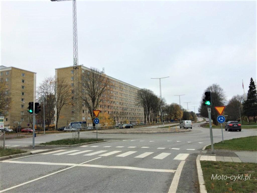 Szwecja - pułapka zielonego światła przed skrzyżowaniem